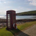 Skotsko telefonni budka