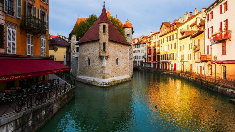 Francouzské město Annecy